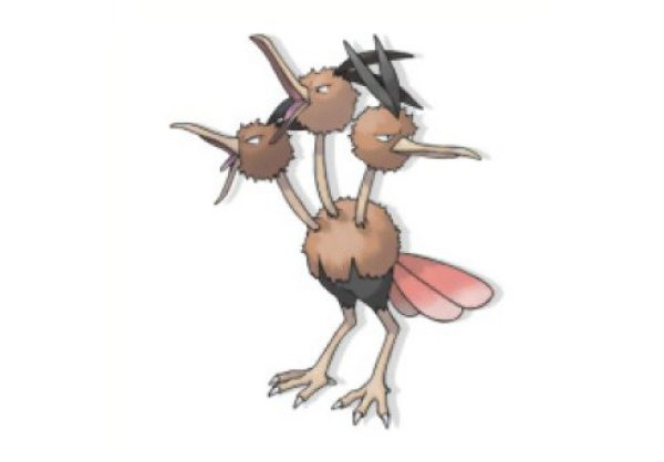 Doduo and Dodrio the flying Pokemon