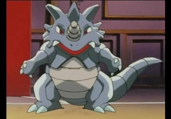Rhydon the first Pokemon ever created