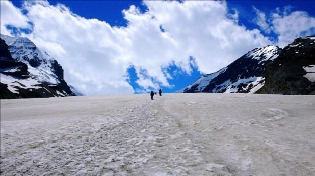 The Athabasca Glacier, Canada