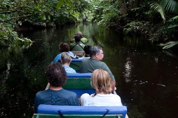 В Эквадорской Амазонии