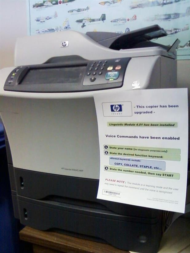 Upgraded Office Copier prank