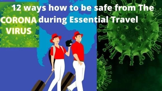 Essential travel during the coronavirus pandemic