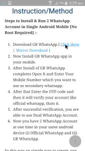 Download 2 WhatsApp