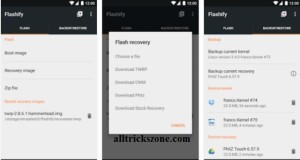 flashify rooted android phone app
