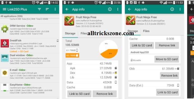 link2sd best rooted android app