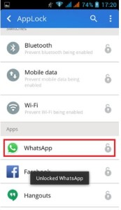 Whatsapp Unlock
