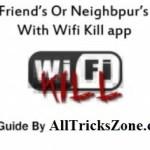 wifi kill apps