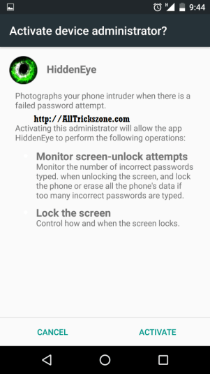 app that takes pic of person unlocking phone iphone