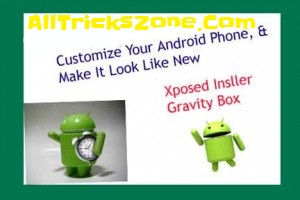 Customize Android Gravity Box