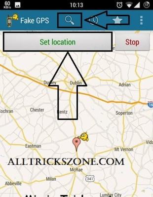 whatsapp fake gps location share