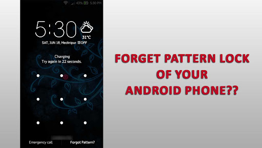 Forgotten Android Pattern Unlock without data loss