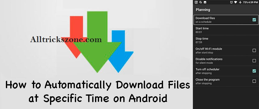 graphic regarding Downloadable Scheduler named How in direction of Agenda Downloads Data files upon android at Person Period