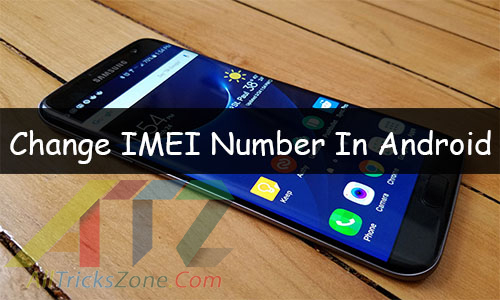 change imei number android