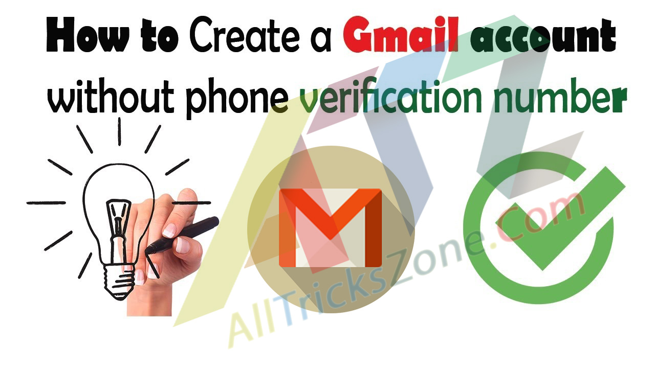 Image Result For How To Create A Gmail Account Without A Phone