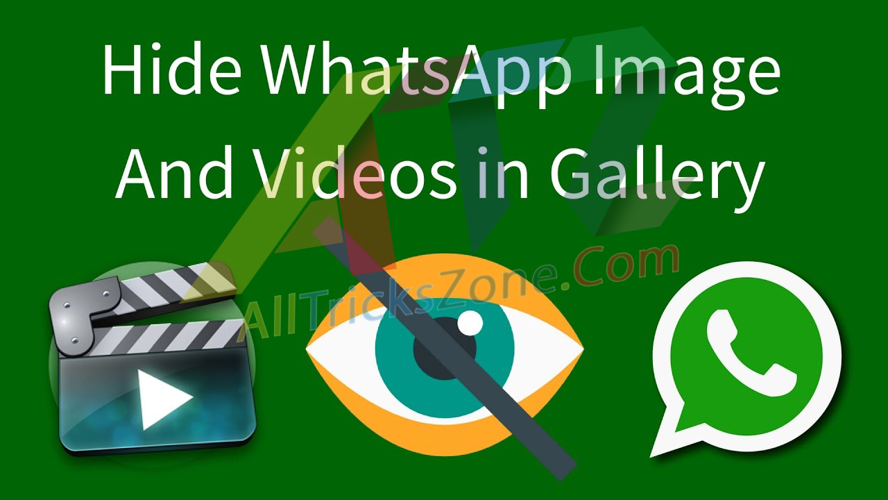 How to Hide Whatsapp Images Video from Gallery