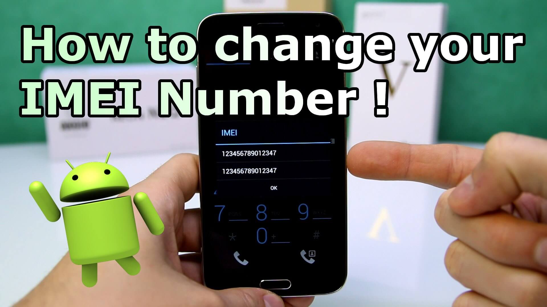 How to change android IMEI without rooting
