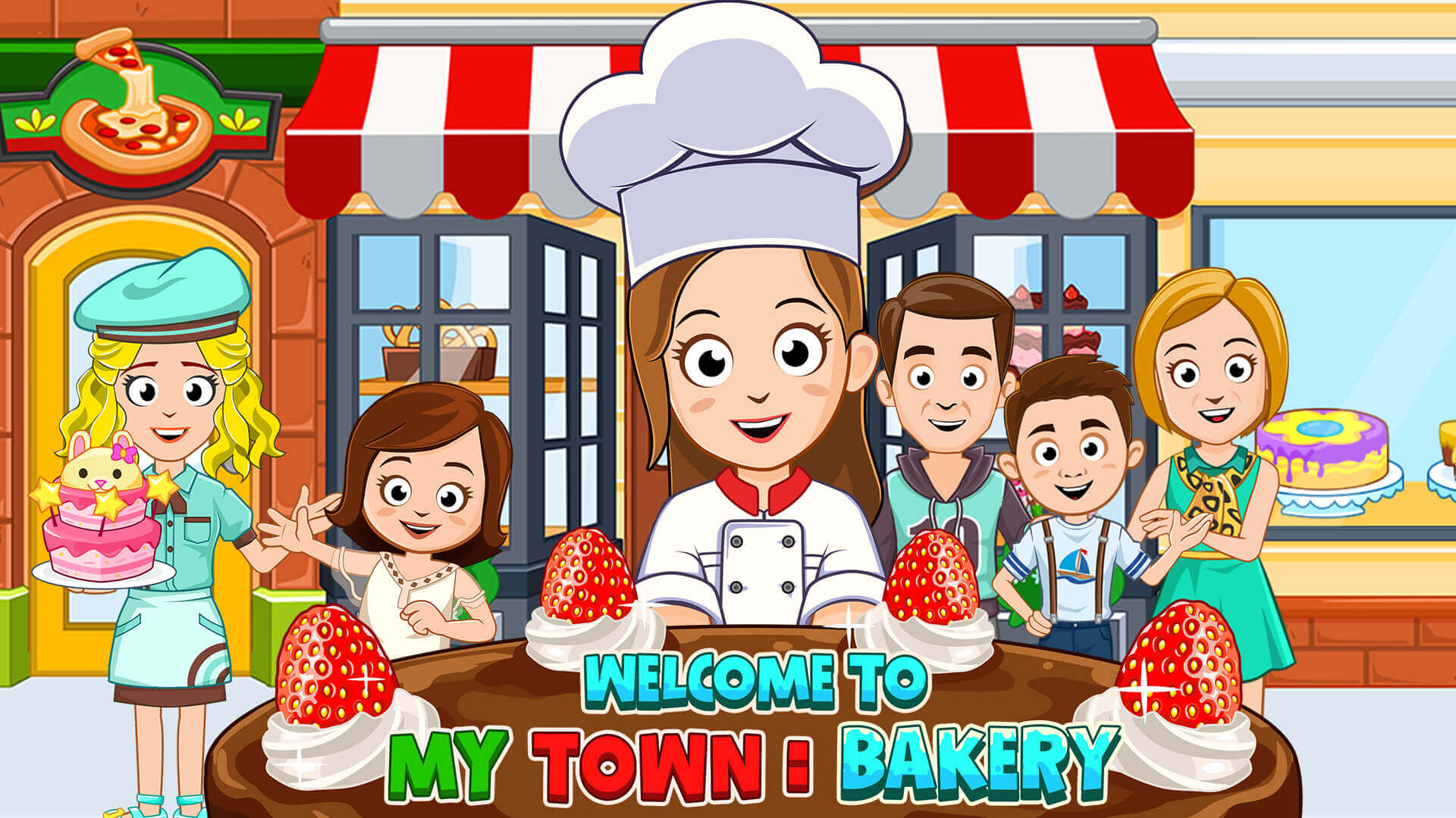 my town bakery game iphone