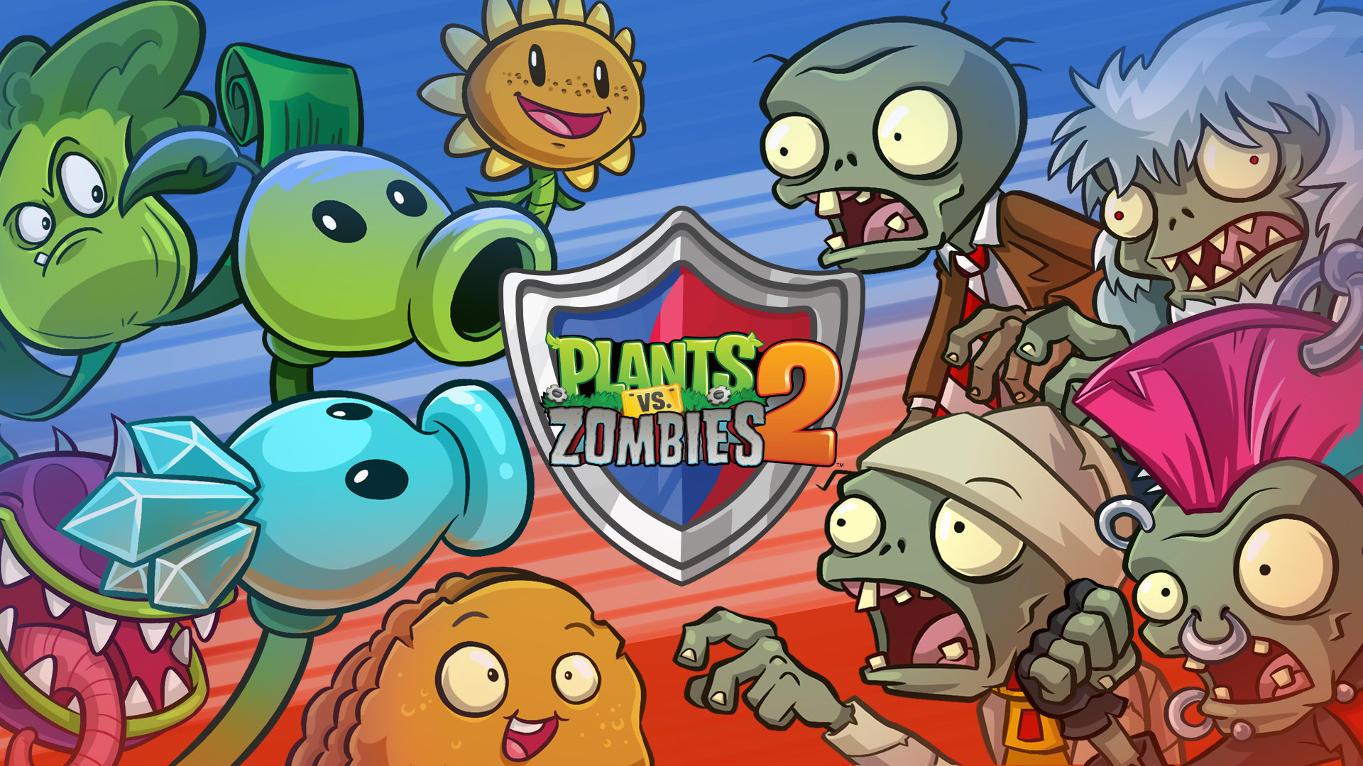 plan vs zombies iphone free game