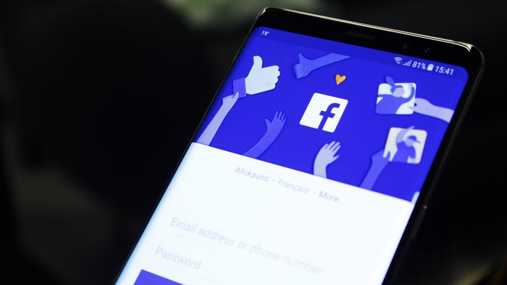 facebook shortcut bar