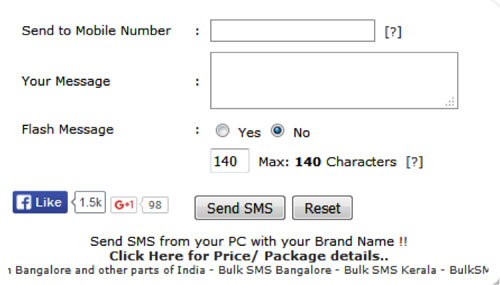 send free anonymous sms from fake any number