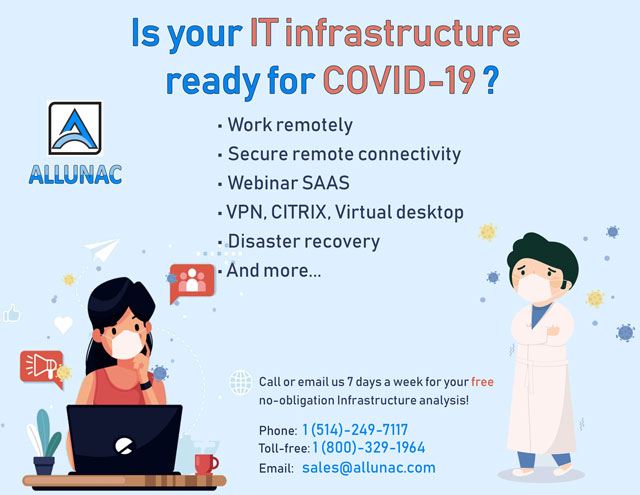 Is your IT infrastructure ready for COVID-19 ?