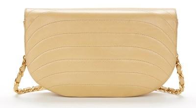 Chanel half moon handbag