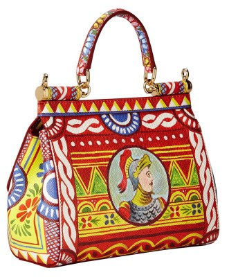 D&G graphic handbag