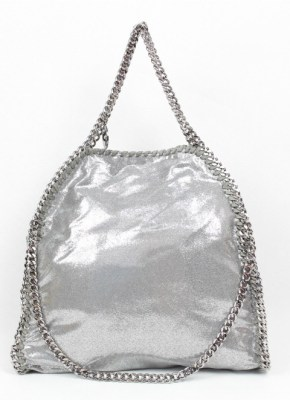 Stella Mcartney metallic handbag