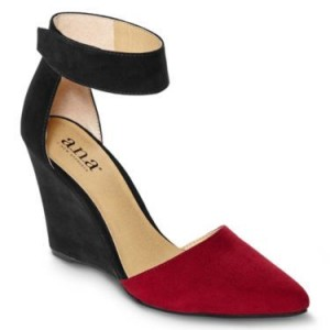 JC Penny ankle strap shoes