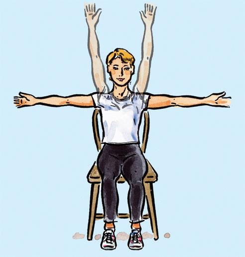 Chari exercise