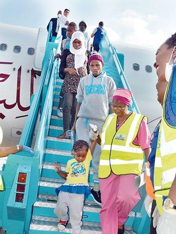 Deportee-libya