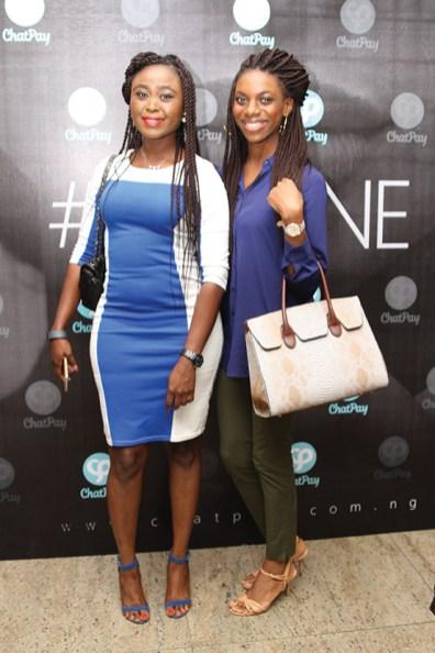 Funlola Adegoke and Bruke Oju