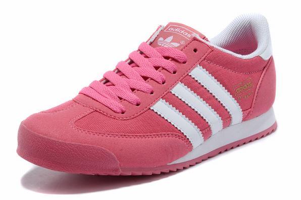 Womens-Adidas-Originals-Dragon-Running-Trainers-Pink-White_3_LRG