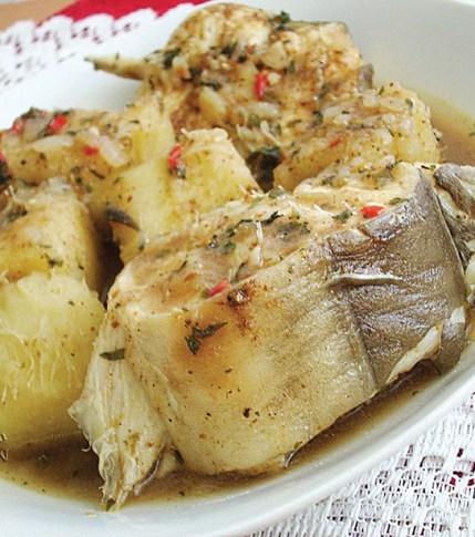 Yam and fresh pepper soup----Nigerianfoodtv.com