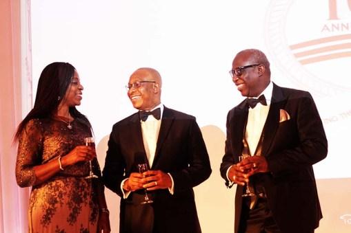 Osarieme Ezekiel, Alex Okoh, with Dr Ebun Bamgboye (Director RIL)