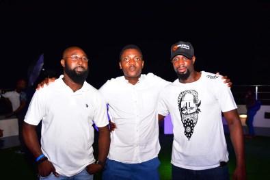 GM Brian Munro, Abayomi Ajao, Williams Derrick and Lanre Akinlagun