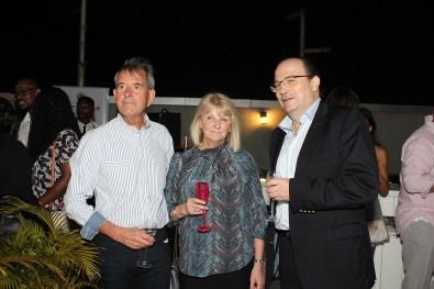 Richard, Judith Willmot and Kari Hala