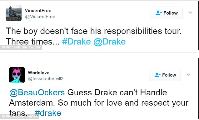 drake tweets