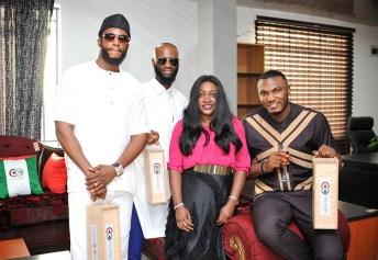 Caleb Nwachukwu, Ike onura, YettyD, Gulder ultimate search's Micheal Nwachukwu