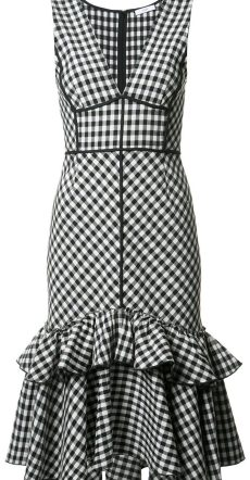 TOME Sleeveless Gingham dress