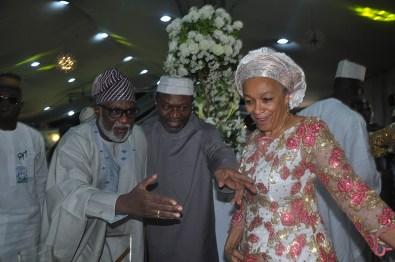 Gov Rotimi Akeredolu, Senator Udoma Udo Udoma and Sally Udoma.