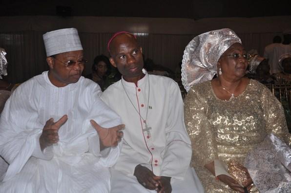 Prince Julius Adeluyi, Bishop Felix Ajakaye and Mrs Julia Adeluyi