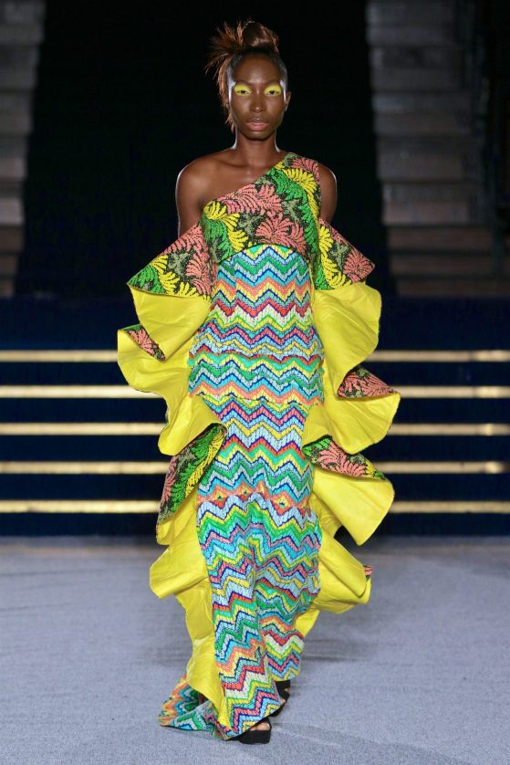 Show Of Royalty As Moremi By Monami Debuts At Africa Fashion Week London 2017 Vanguard Allure