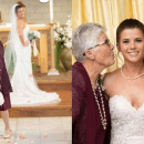 83-year-old grandma serves as flower girl at her granddaughter's wedding