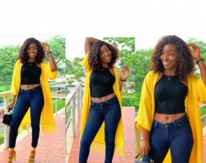 Look of the day: Omowunmi Dada's casual look