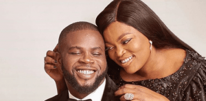 Funke Akindele Bello, JJC Skillz mark third wedding anniversary