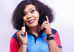 Nollywood Actress, Lillian Okoli Signs Makeup Deal