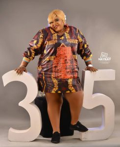 Princess Allwell Ademola celebrates 35 with colourful photos