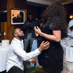 Davido and Chioma, who are expecting their first child together