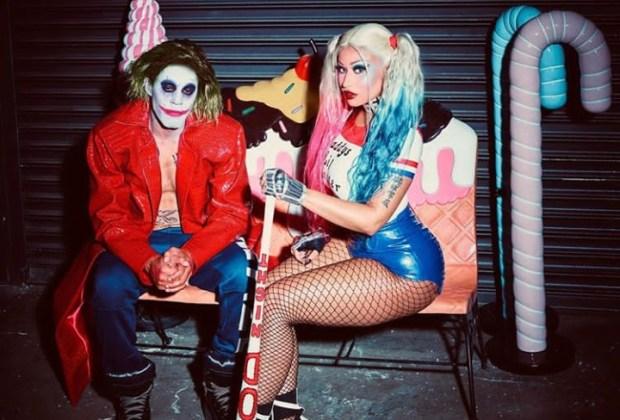 Nicki Minaj and Husband seated.